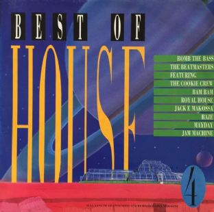 V/A - Best Of House Volume 4 (LP) (VG/G+)